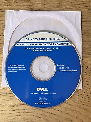 Dell Installation Disc  Inspiron 1501 Laptop Computer Software Device Drivers • 4.99£