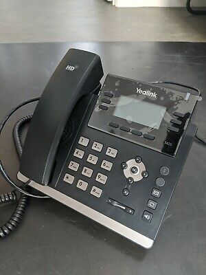 Yealink T42S IP Phone PoE VoIP Ip Phone FreePBX • 37£