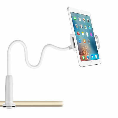 360 Gooseneck Table Bed Clamp Stand Holder Mount For IPad Tablet Flexible Arm UK • 5.99£