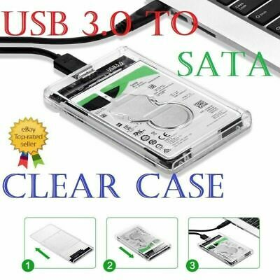 USB 3.0 External 2.5 Inch SATA HDD Hard Drive Caddy Case Enclosure For Laptop PC • 5.99£