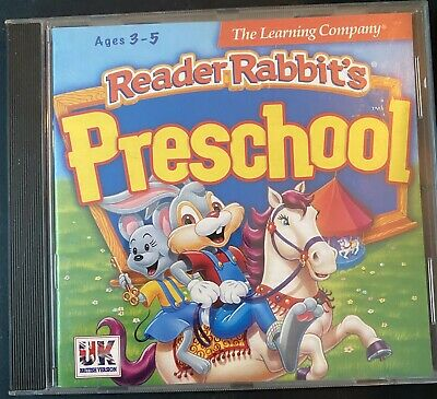 Reader Rabbit's Preschool PC Game CD-ROM - Ages 3-5 - 1997 The Learning Company • 3.45£
