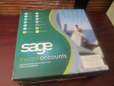 SAGE Instant Accounts Software, Accounting, Book Keeping Windows XP & 2000 • 14.99£