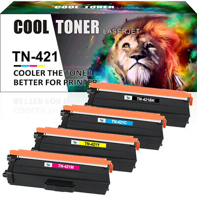 Full Set Toner Cartridge TN421 423 Compatible Brother HL-L8260CDW DCP-L8410CDW  • 34.59£