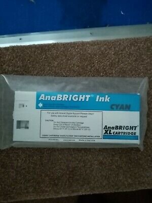 Anabright Anajet Dtg Ink Cartridge Cyan • 35£