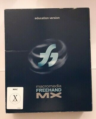 FreeHand MX Education Version For Macintosh - Boxed With Instructions. • 34.99£