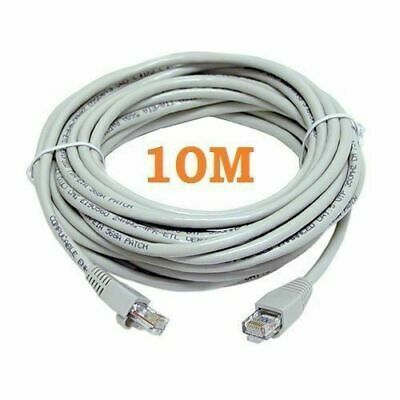 Ethernet Cable Rj45 Network Fast Internet Lead Premium Speed Cat5e 10 Meter • 4.99£