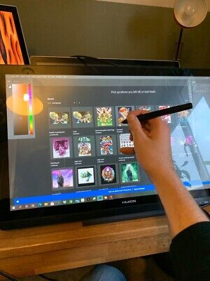 Huion Graphics Tablet GT220 Barely Used Pens Box • 175£