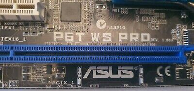 Asus P6T WS PRO Motherboard • 42£
