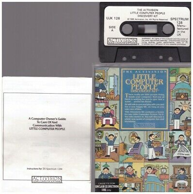 The Activision Little Computer People Discovery Kit For ZX Spectrum • 34£