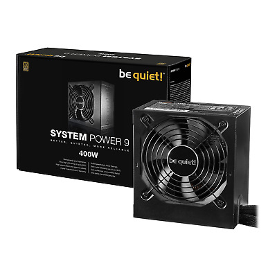 400W Be Quiet! System Power 9, Full Wired, 80PLUS Bronze, Dual Rail, 32A, 120mm  • 40£
