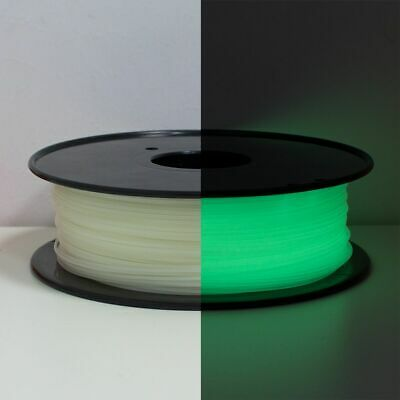 Geeetech 3D Printer Filament Glow In The Dark Luminous Green PLA 1.75mm 1Kg • 18.99£