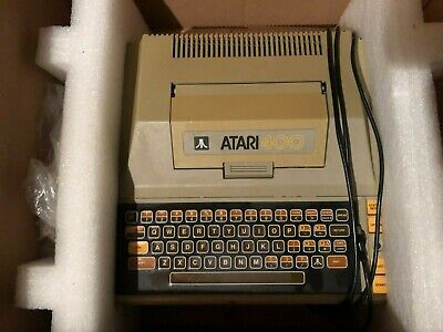 Atari 400 Games Console With Games And Manuals • 250£