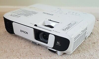 Epson EB-X41 3LCD HDMI Projector H843B -  22 Eco / 1271 Normal Lamp Hours Used • 279.99£