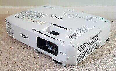 Epson EB-S18 3LCD HDMI Projector H552B -  599 Eco / 88 Normal Lamp Hours Used • 79.99£