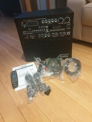 Audio 2000's Recordable All In One KARAOKE  And 2 Mics • 90£