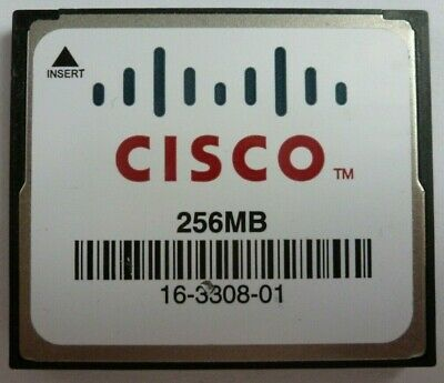 Cisco Compact Flash Card For Routers 256 MB • 3£