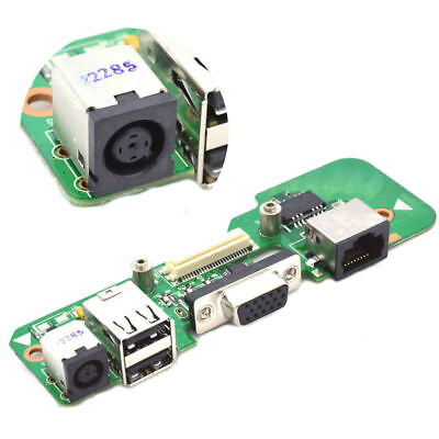 DR1 ROUND DC JACK POWER BOARD USB Ethernet For DELL INSPIRON 1545 48.4AQ03.021 • 7.99£