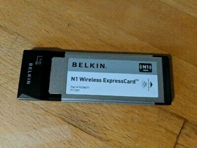 Belkin N1 Wireless Expresscard - F5D8071 • 4£