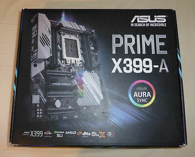 ASUS Prime X399-A TR4 Threadripper Motherboard • 165£