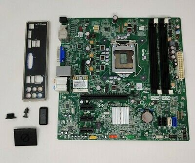 Dell XPS 8300 LGA1155 Motherboard With I/O Shield 0Y2MRG + WLAN (F-10) • 34.99£