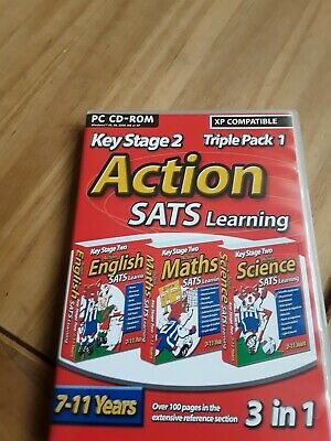 Key Stage 2 Action SATS Learning English, Maths, Science • 1£