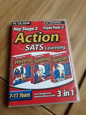 Key Stage 2 Action SATS Learning • 0.99£