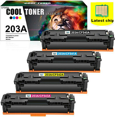Toner Compatible For HP Color Laserjet Pro Printer M254dw MFP M281fdw 203A 203X • 43.61£