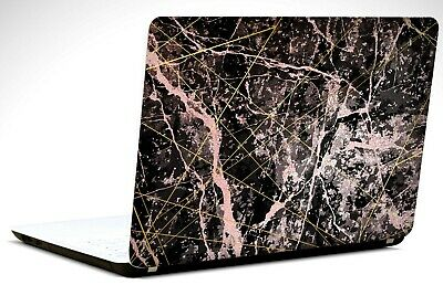 15.6 Inch Black Marble - Laptop/Vinyl Skin/Decal/Sticker/Cover-LM8 • 6.99£