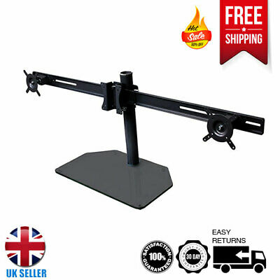 Triple Monitor Stand For Screens Up To 22 Inch - Ideal For Office And Gaming  • 19.99£