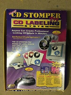 CD Stomper Pro: CD Labelling System • 9.99£