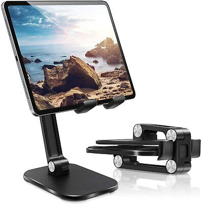 Foldable Adjustable Tablet Stand Holder Phone Desktop Stand Dock Fr IPad Samsung • 9.99£