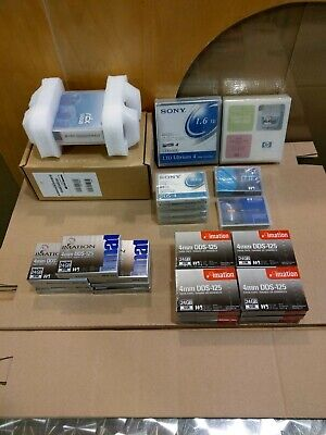 Various Data & Cleaning Cartridges - Tandberg, Sony, HP, Imation • 5£