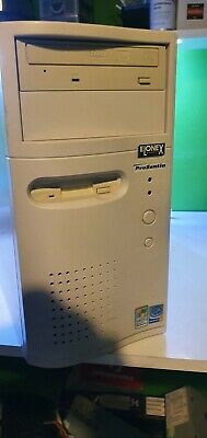 Vintage Pent 4 Windows XP Computer Tower Working Retro Gaming PC! • 31£