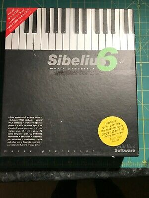 'Sibelius 6'  Music Processor Programme For Acorn Risc Computers • 10£