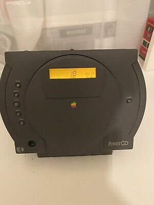 Apple PowerCD SCSI CD Player Fully Working W/ Remote, Cables • 79£
