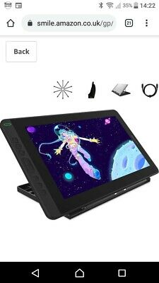 2020 NEW HUION Kamvas 13 Graphic Tablet With Screen & Stand. Perfect Condition • 180£
