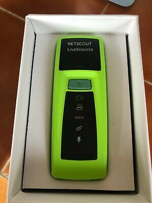 NetScout Networks LSPRNTR-300 Link Sprinter Network Tester-PoE Testing  • 100£