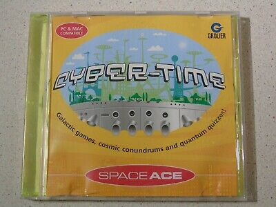 Cyber-Time - Space Ace - PC Learning Software • 2£