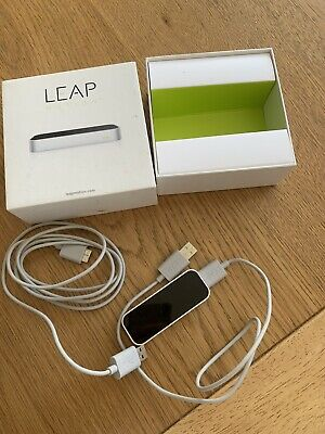 ** LEAP ** MOTION CONTROLLER WITH 2 X USB LEADS (BOXED) • 21£