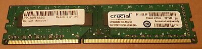 Crucial CT102464BA160B (8 GB, PC3-12800 (DDR3-1600MHZ) UDIMM (1x8GB) • 20£
