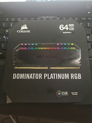 Corsair Dominator Platinum Rgb Ddr4 3600mhz 64GB • 400£