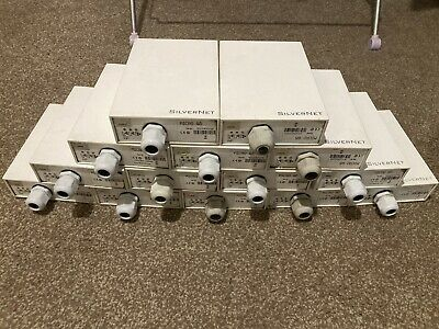 SilverNet SILMICRO95 11n 300 95Mbps Long Range 2KM X 14 Units Wireless Job Lot • 250£