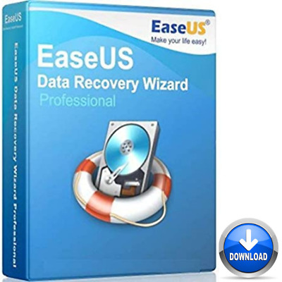 EaseUs Data Recovery Wizard Professional  Lifetime License  Full Version • 2.89£