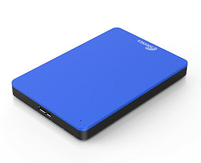 500gb External Hard Drive 2.5  For Use With Smart Tv's - Blue Usb 3.0 • 34.95£