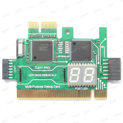 TL611-Pro PC PCI PCI-E LPC Motherboard Test Cards Update Of TL460S PLUS  • 27.14£