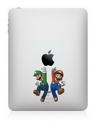 Ipad Decal Sticker Mario Dance With Apple Art For Apple Laptop • 8.80£