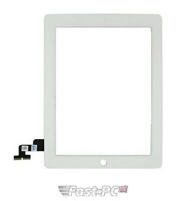 IPad 2 White OEM Quality Front Touch Screen Digitizer • 19.99£