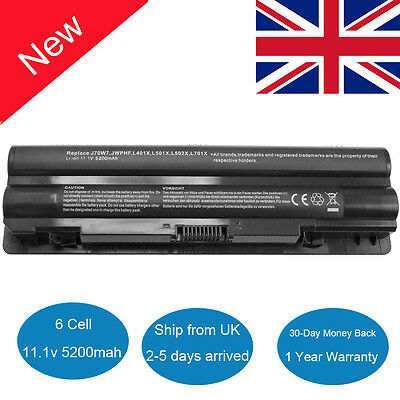 Battery For Dell XPS 14 15 17 L401x L501x L502x L701X L702X JWPHF WHXY3 R795X • 14.69£
