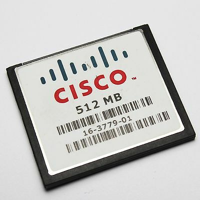 Cisco MEM-CF-512MB Compact Flash 1900 2900 3900 • 24£