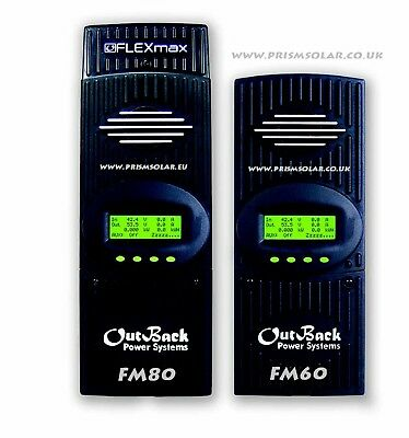 Outback Flexmax 60 MPPT Solar Charge Controller FM 60 Free Shiping Deal  • 490£